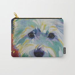 Buddy the Cairn Terrier Carry-All Pouch