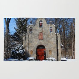 Portiuncula Chapel in Winter I Rug