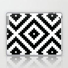 Black Aztec Laptop & iPad Skin