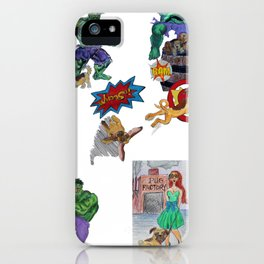 Pug creation iPhone Case