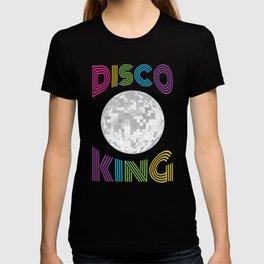 Disco King 70's Seventies Costume design Men Boys T-shirt