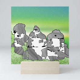 The Three Sisters Mini Art Print