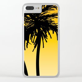 SunSet3 Clear iPhone Case