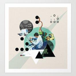 Hackers Art Print