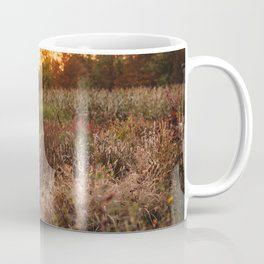 Golden Flower Garden I Coffee Mug
