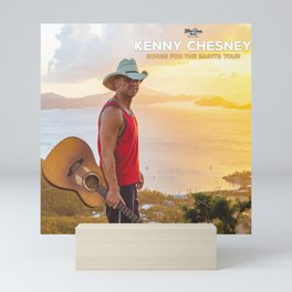 kenny chesney song for the saints tour 2019 simukasama Mini Art Print