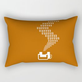 Coffee Coffee Coffee Rectangular Pillow