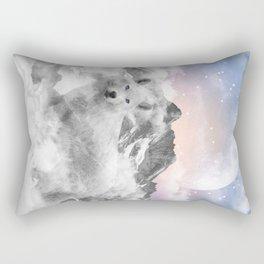 The Soul That Sees Beauty Rectangular Pillow
