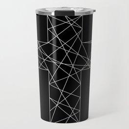 Geometrical cross // Tara Travel Mug