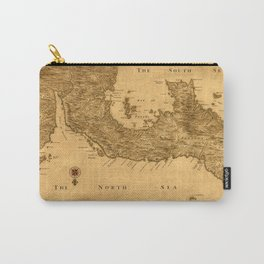 Map Of Panama 1800 Carry-All Pouch
