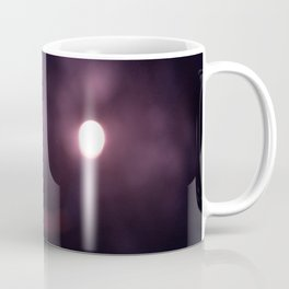 Abstract Hooded Figure with Candle Coffee Mug