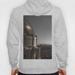 Griffith Park Observatory with Downtown LA Skyline Hoody