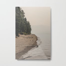 Surreal Lakeside Metal Print