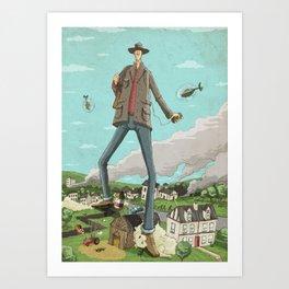 Tall Art Print