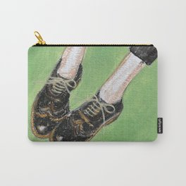 Legs and Vintage shoes 2 Carry-All Pouch