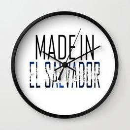 Made In El Salvador Wall Clock