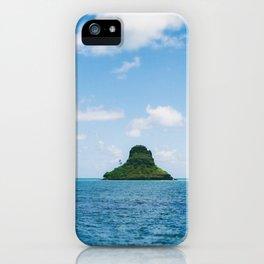 Mokolii Island Straight Ahead iPhone Case