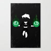 danny ivan Canvas Prints featuring Danny by JHTY