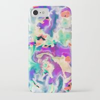 northern lights iPhone & iPod Cases featuring Northern Lights by Amy Sia