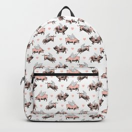 Flying Pigs | Vintage Pigs with Wings | Backpack