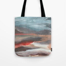 Serenity [2]: an acrylic piece in both warm and cool colors by Alyssa Hamilton Art Tote Bag