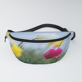 tulips on wind Fanny Pack
