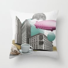 Zeppelin Throw Pillow