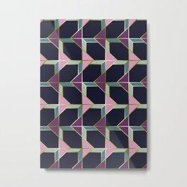 Ultra Deco 4 #society6 #ultraviolet #artdeco Metal Print