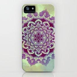 Hipnotic Mandala Design iPhone Case
