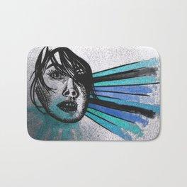 Facial Expressions Bath Mat