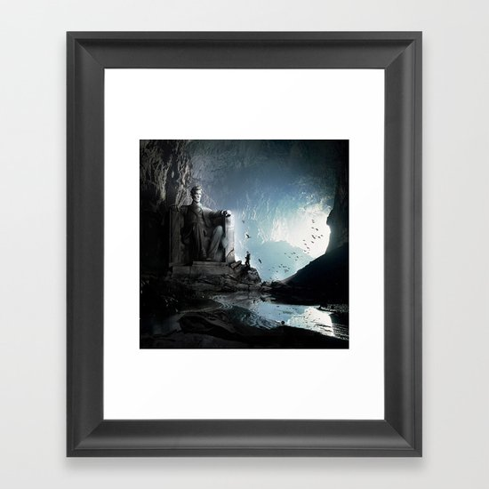 The Lost Memorial Framed Art Print