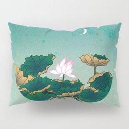 Minhwa: Lotus Pond at Night C Type Pillow Sham