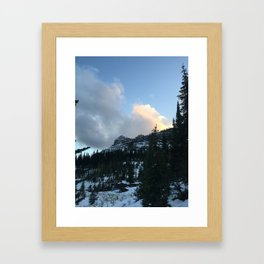 Hole in the Wall Framed Art Print