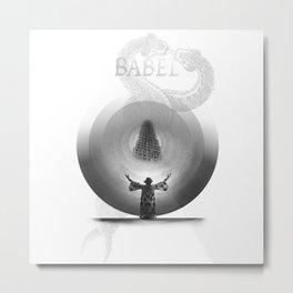 Metropolis Babel v.1 Metal Print