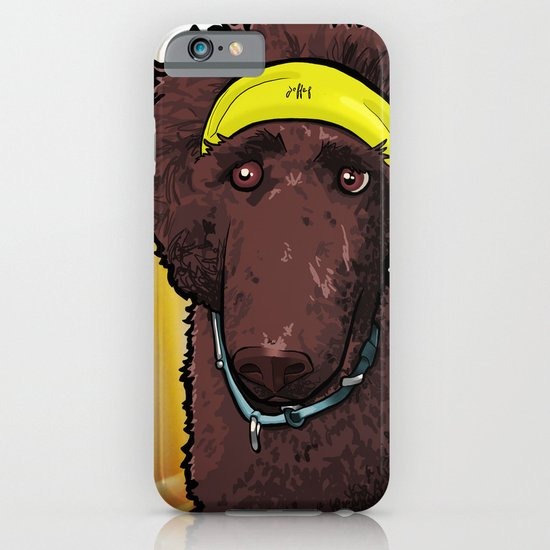 Hobbes (poodle) iPhone & iPod Case