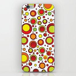 Eccentric Circles 12 iPhone Skin