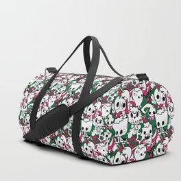 doodlindg christmas Duffle Bag