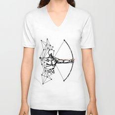 the Archer Unisex V-Neck