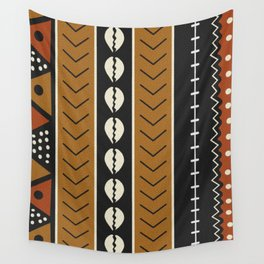 Let's play mudcloth Wall Tapestry