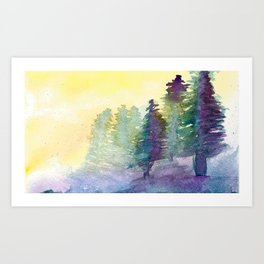 In The Pines Art Print