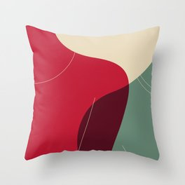 lean Throw Pillow