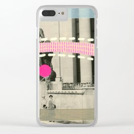 Saluti Dal Futuro 032 Clear iPhone Case