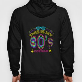This Is My 80s Costume - Vintage Vaporwave T-Shirt Hoody