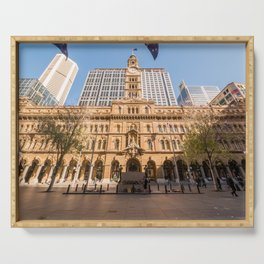 Sydney Cenotaph and Historic GPO Building, Martin Place, Sydney Serving Tray