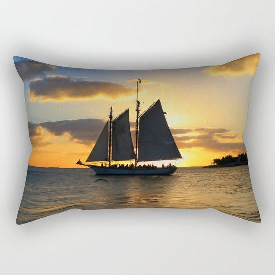 A way to the sun Rectangular Pillow
