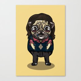 Pug Murray in Zombieland Canvas Print
