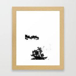 hisomu A. Framed Art Print