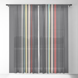 Classic Retro Edimmu Sheer Curtain