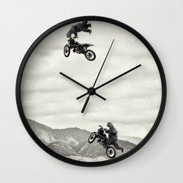 gozillas ride Wall Clock