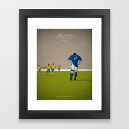 Roberto Baggio Framed Art Print